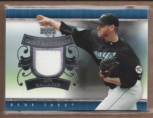 Photo of 2007 Upper Deck UD Game Materials #RH Roy Halladay Jsy S1
