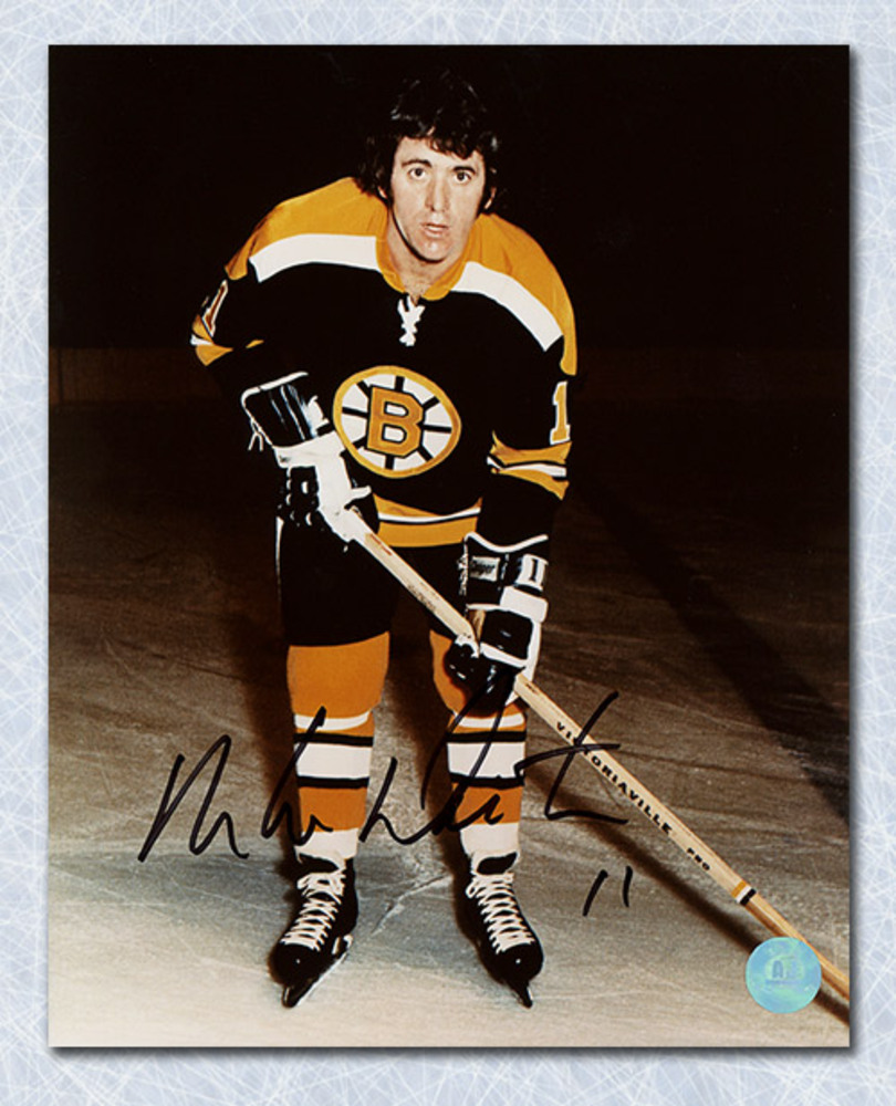 Mike Walton Boston Bruins Autographed 8x10 Photo
