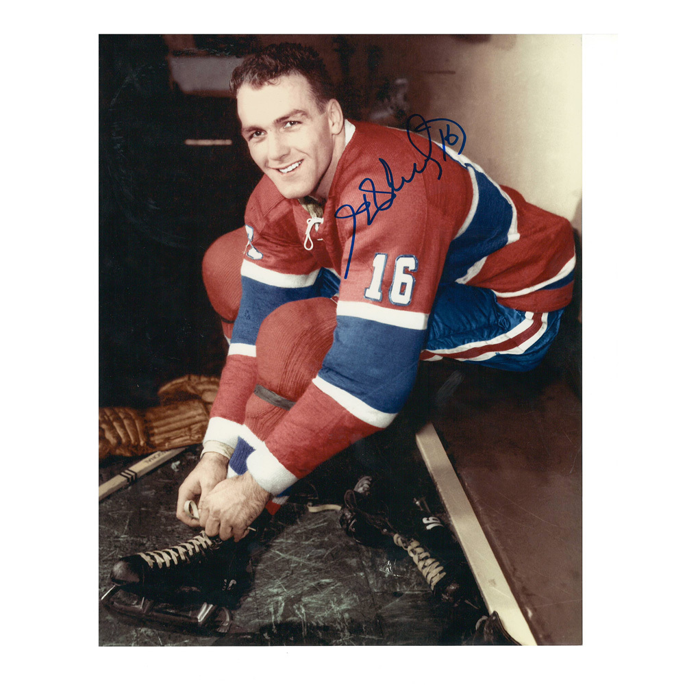 HENRI RICHARD Signed Montreal Canadiens 8 X 10 Photo - 70137