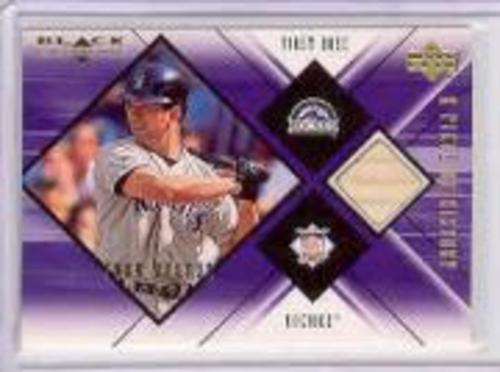 Photo of 2000 Black Diamond A Piece of History #TH Todd Helton