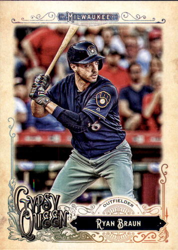 Photo of 2017 Topps Gypsy Queen #279 Ryan Braun