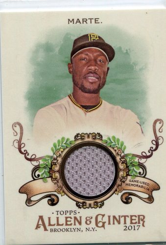 Photo of 2017 Topps Allen and Ginter Relics #FSRBSM Starling Marte B