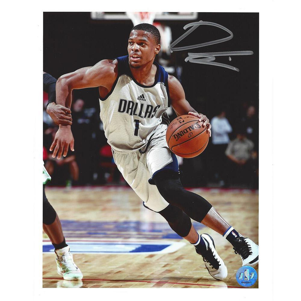 Dennis Smith Jr - Dallas Mavericks - 2017 NBA Draft - Autographed Photo