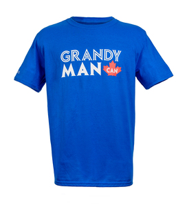 Grandy Man Can T-shirt By Grand Kids Foundation