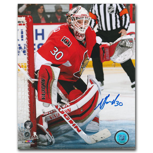 Andrew Hammond Autographed Ottawa Senators 8X10 Photo