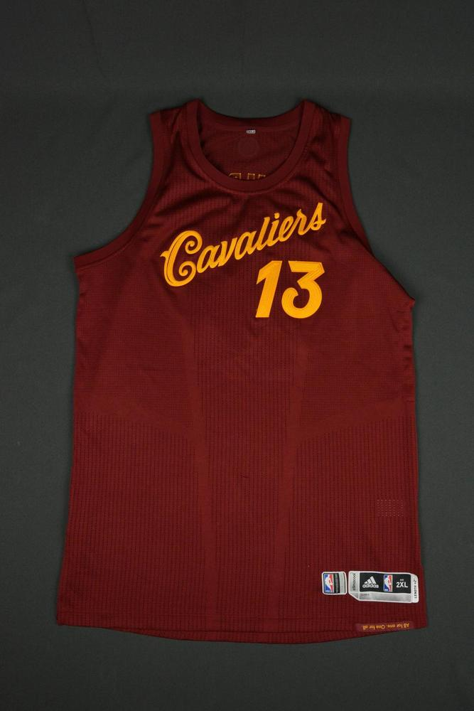 be00c3e751f ... tristan thompson cleveland cavaliers nba christmas day 16 game worn  jersey ...