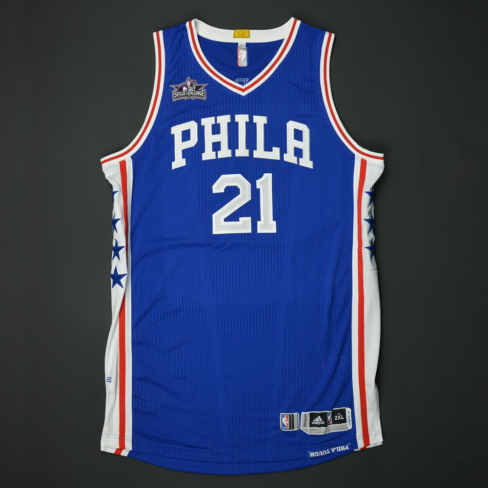 Joel Embiid - Philadelphia 76ers - 2017 Taco Bell Skills Challenge - Event-Issued Jersey