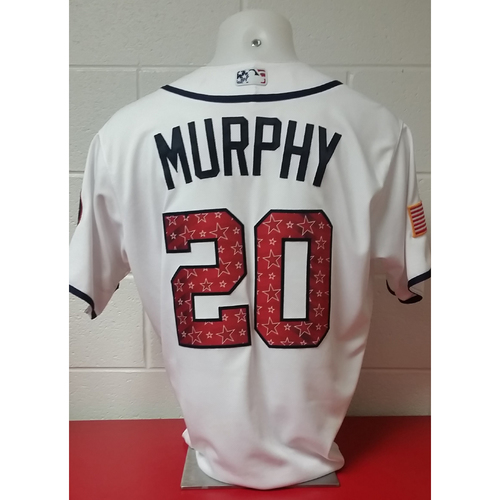 Photo of Game-Used Jersey: Daniel Murphy