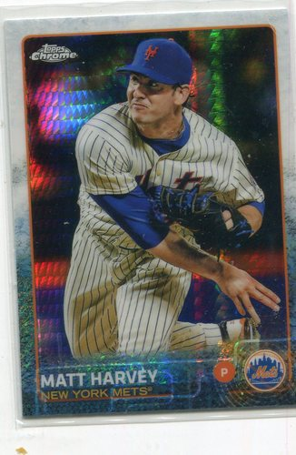 Photo of 2015 Topps Chrome Prism Refractors #115 Matt Harvey
