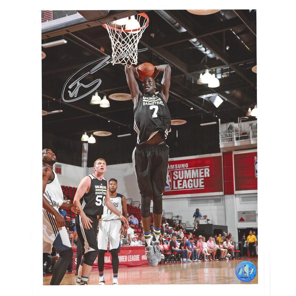 Thon Maker - Milwaukee Bucks - 2016 NBA Draft - Autographed Photo