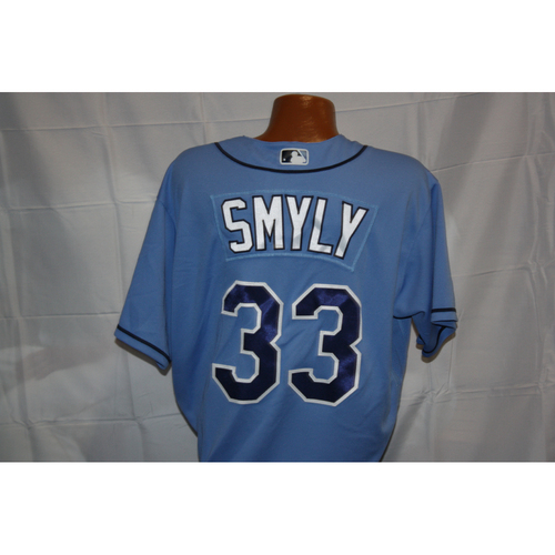 Photo of Drew Smyly Opening Day Game-Used Jersey