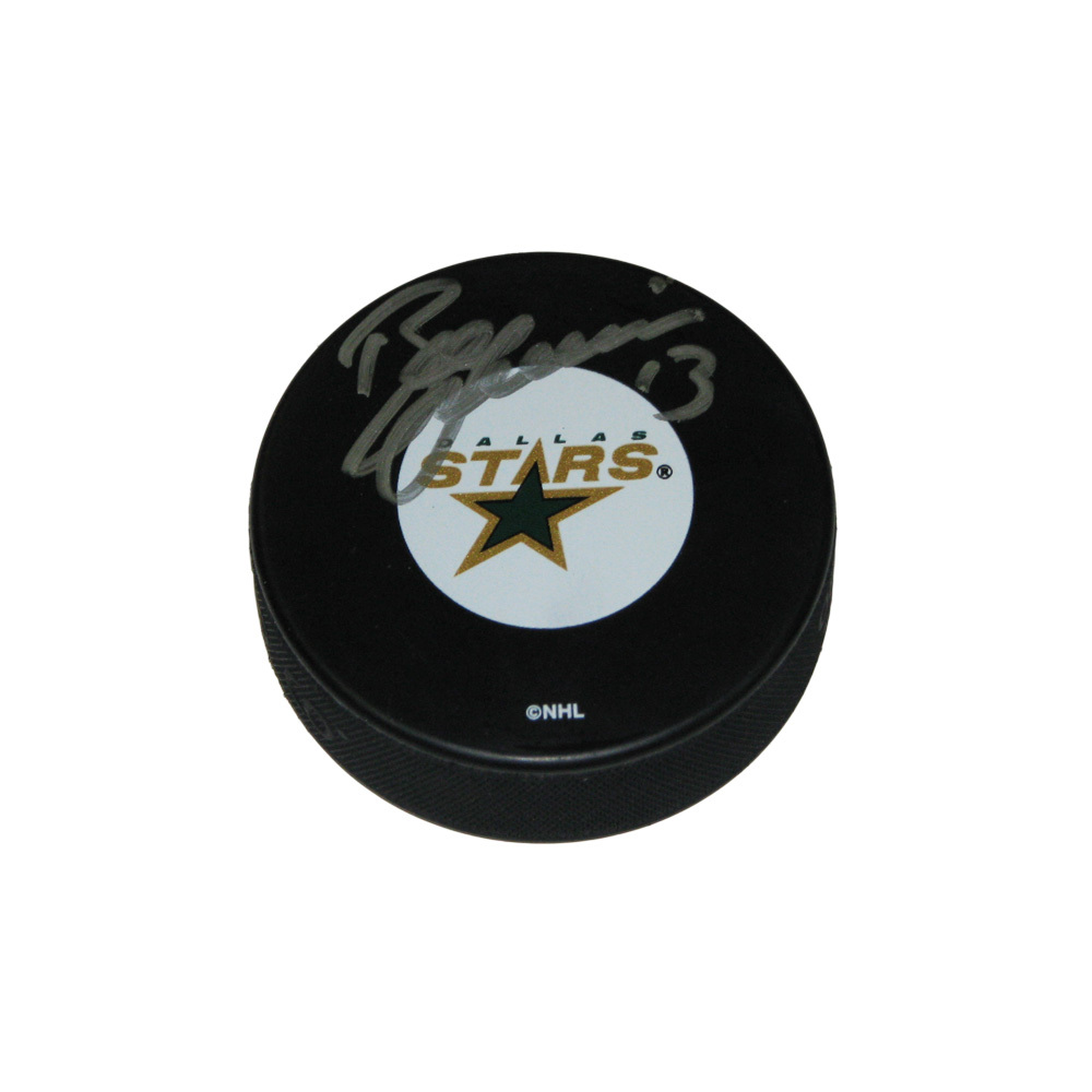 BILL GUERIN Signed Dallas Stars Puck