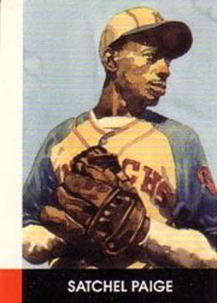 1990 Negro League Stars #20 Satchel Paige