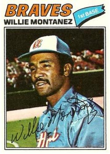 Photo of 1977 Topps #410 Willie Montanez
