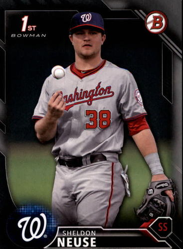 Photo of 2016 Bowman Draft Silver #BD42 Sheldon Neuse RC /499