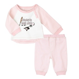 Toronto Blue Jays Newborn Batting 2 Piece Set by Majestic