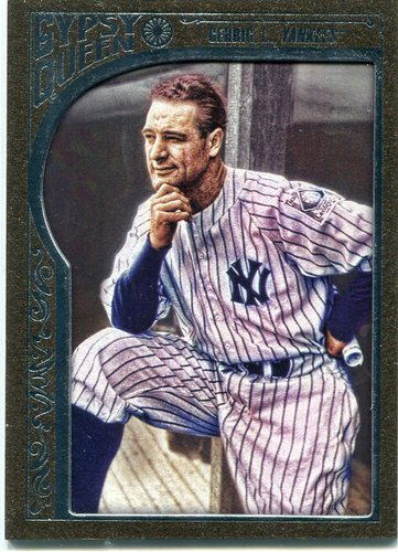 Photo of 2015 Topps Gypsy Queen Framed Bronze #39 Lou Gehrig