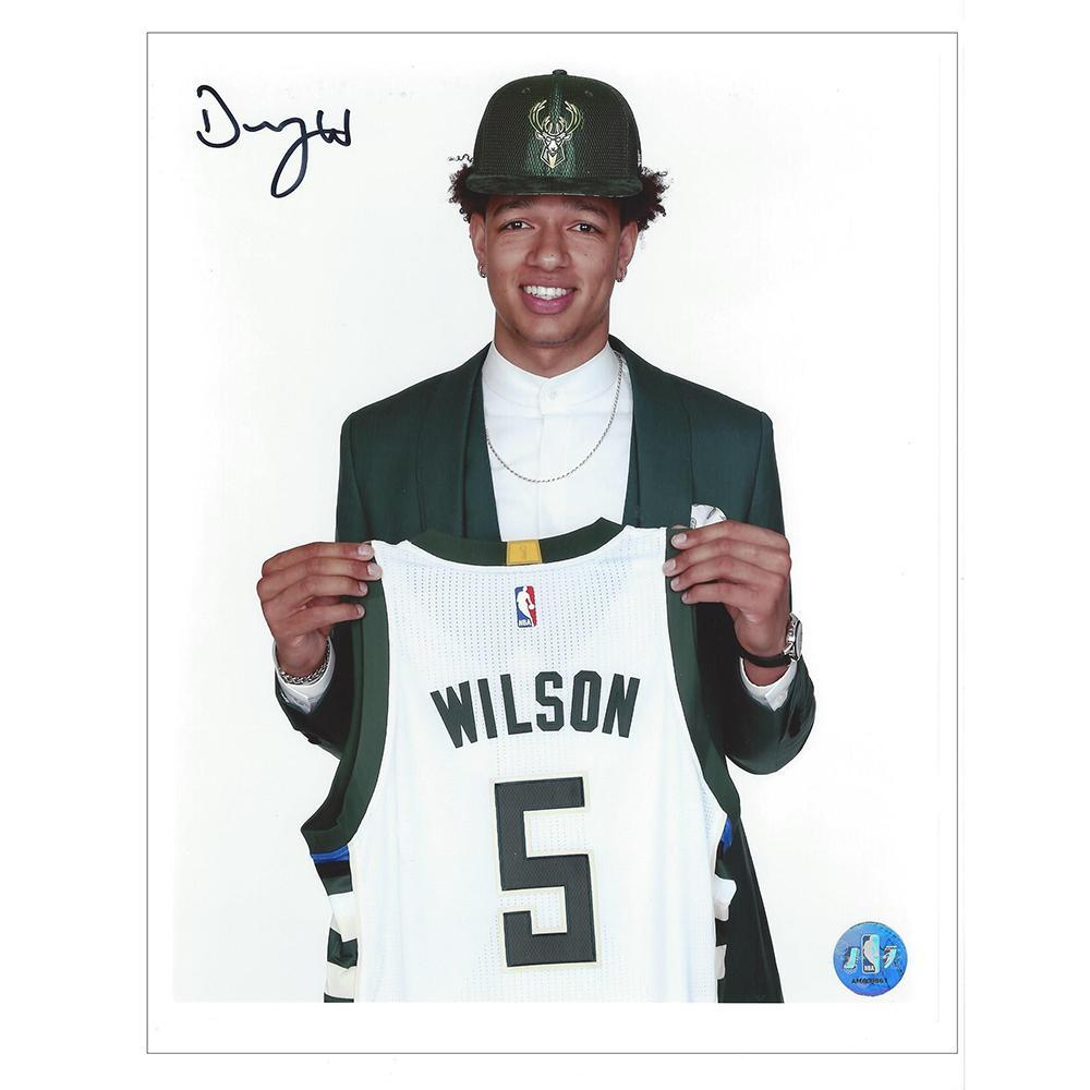 DJ Wilson - Milwaukee Bucks - 2017 NBA Draft - Autographed Photo