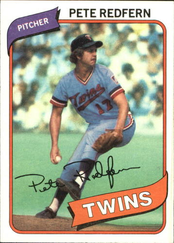 Photo of 1980 Topps #403 Pete Redfern DP