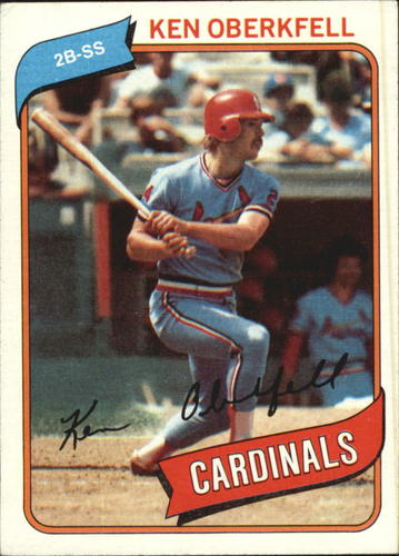 Photo of 1980 Topps #701 Ken Oberkfell RC