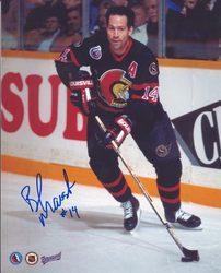 Brad Marsh Ottawa Senators Autographed 8x10 Photo