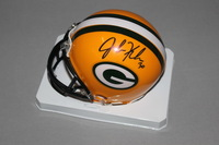 NFL - PACKERS JOHN KUHN SIGNED PACKERS MINI HELMET