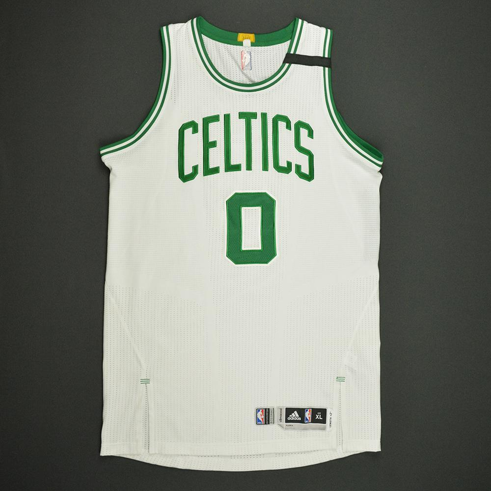 Avery Bradley - Boston Celtics - White Playoffs Game-Worn Jersey - 2016-17 Season