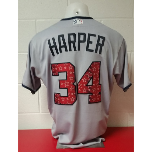 Photo of Game-Used Jersey: Bryce Harper