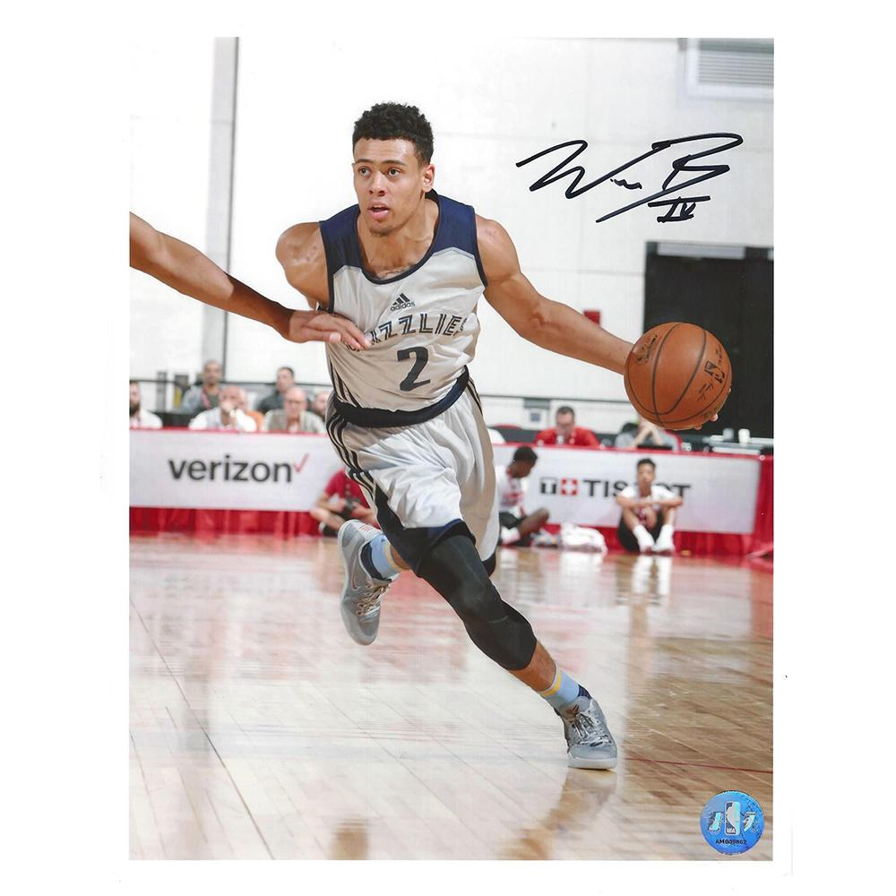 Wade Baldwin IV - Memphis Grizzlies - 2016 NBA Draft - Autographed Photo