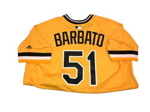 Johnny Barbato Team-Issued Sunday Alternate Jersey