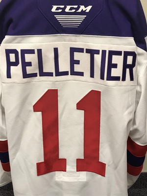 Jakob Pelletier 2019 Sherwin-Williams CHL/NHL Top Prospects Game Issued Jersey