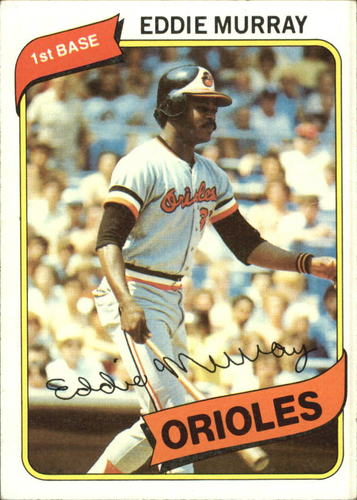 Photo of 1980 Topps #160 Eddie Murray