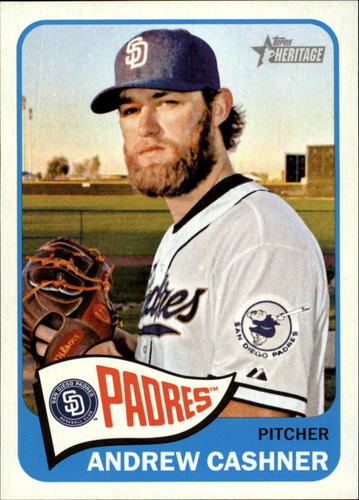 Photo of 2014 Topps Heritage #54 Andrew Cashner