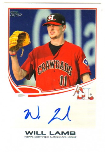 Photo of 2013 Topps Pro Debut Autographs #WL Will Lamb