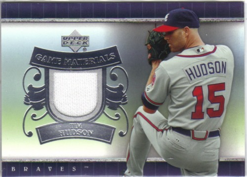 Photo of 2007 Upper Deck UD Game Materials #TH Tim Hudson Jsy S1