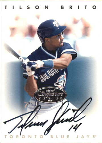 Photo of 1996 Leaf Signature Autographs Silver #34 Tilson Brito