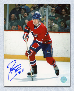 Ryan Walter Montreal Canadiens Autographed 8x10 Photo