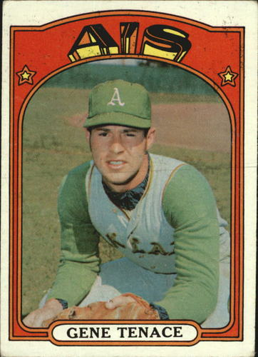 Photo of 1972 Topps #189 Gene Tenace