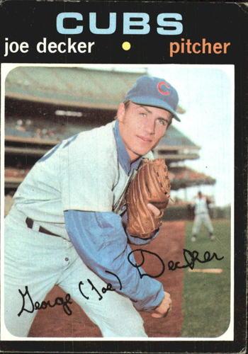 Photo of 1971 Topps #98 Joe Decker RC
