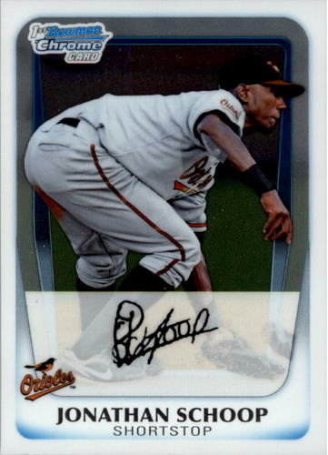 Photo of 2011 Bowman Chrome Prospects #BCP25 Jonathan Schoop