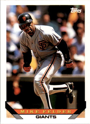 Photo of 1993 Topps #466 Mike Felder