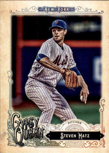 Photo of 2017 Topps Gypsy Queen #281 Steven Matz