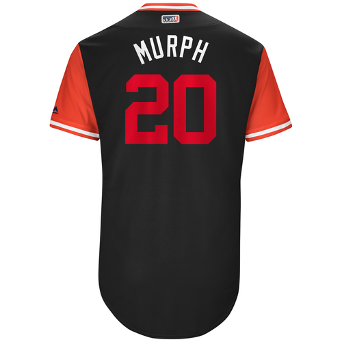 "Photo of Daniel ""Murph"" Murphy Washington Nationals Game-Used Players Weekend Jersey"