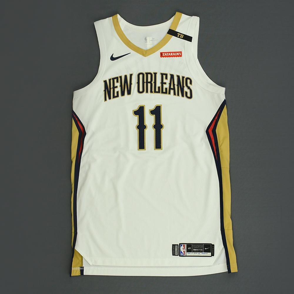 Jrue Holiday - New Orleans Pelicans - Kia NBA Tip-Off 2018 - Game-Worn Association Edition Jersey