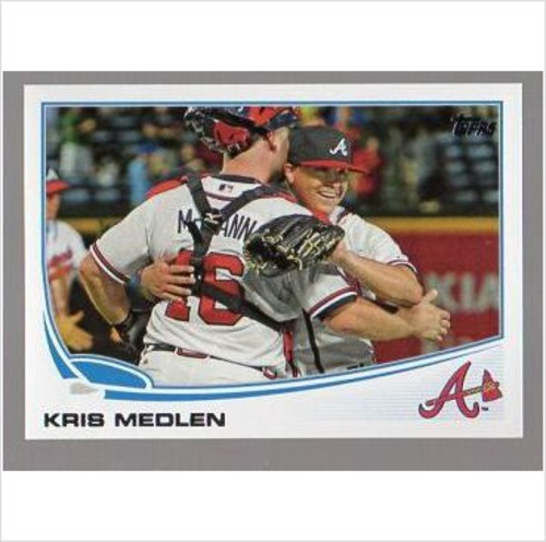 Photo of 2013 Topps #344 Kris Medlen