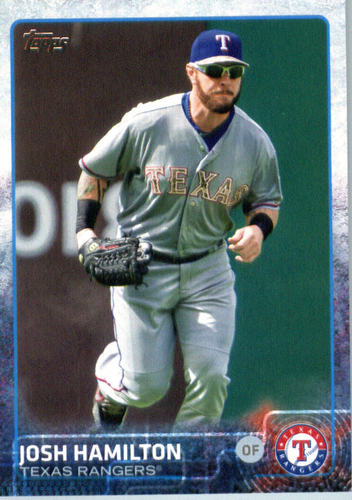 Photo of 2015 Topps Update #US257 Josh Hamilton