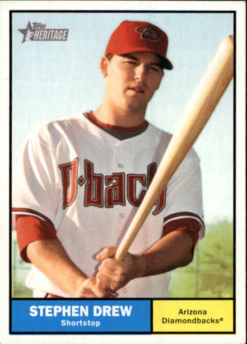 Photo of 2010 Topps Heritage #274 Stephen Drew