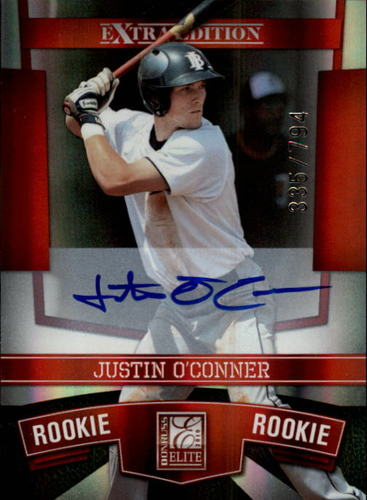 Photo of 2010 Donruss Elite Extra Edition #109 Justin O'Conner AU/794