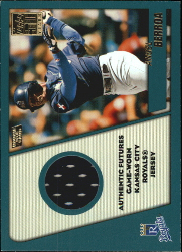 Photo of 2001 Topps Traded Rookie Relics #TRRAB Angel Berroa Jsy