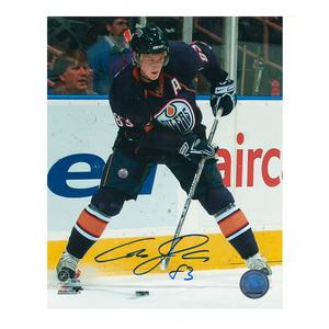 ALES HEMSKY Signed Edmonton Oilers 8 X 10 Photo - 70146